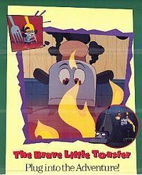 a movie poster for The Brave Little Toaster